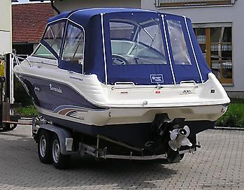 Verdeck Sea Ray 230 OV Persenning 01
