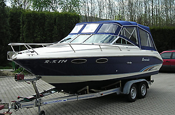 Verdeck Sea Ray 230 OV Persenning 02