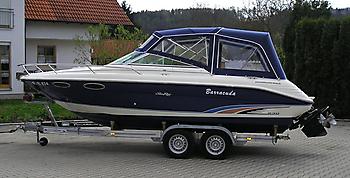 Verdeck Sea Ray 230 OV Persenning 03