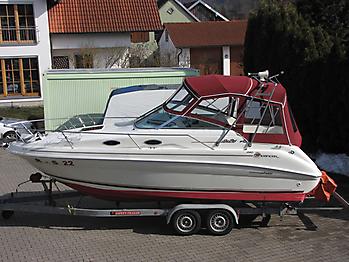 Verdeck Sea Ray 240 DA Persenning  01