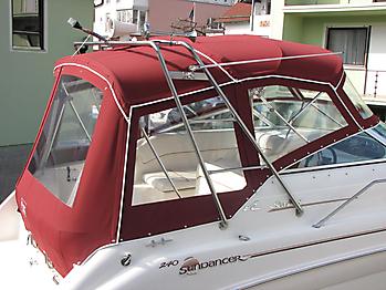 Verdeck Sea Ray 240 DA Persenning  13