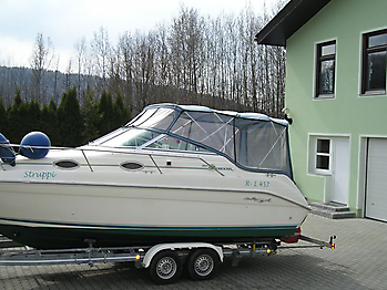 Originalverdeck Sea Ray 250 Sundancer  01