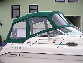 Verdeck Sea Ray 250 Sundancer Persenning  05