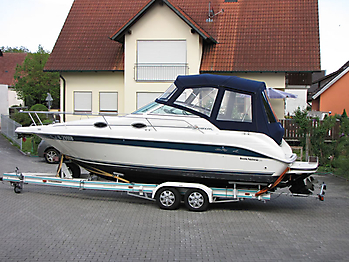 Verdeck Sea Ray 250 Sundancer Persenning 12