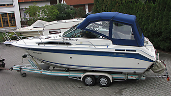Verdeck Sea Ray 250 DA Persenning  03