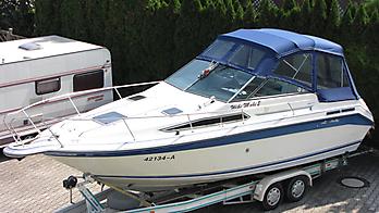 Verdeck Sea Ray 250 DA Persenning  05