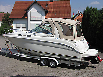 Verdeck Sea Ray 260 Sundancer Persenning  14