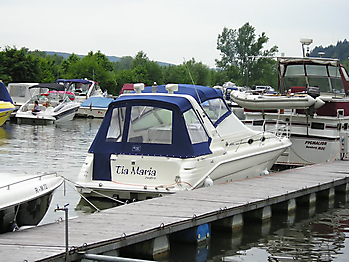 Verdeck Sea Ray 290 Sundancer Persenning 05