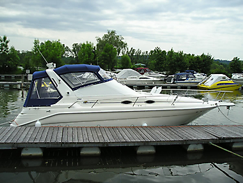 Verdeck Sea Ray 290 Sundancer Persenning 06