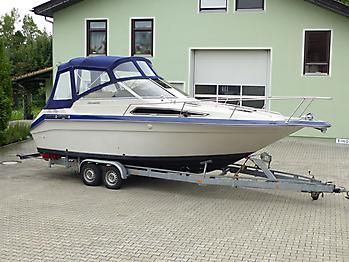 Verdeck Sea Ray Sorrento 25 Bootsverdeck Persenning 09
