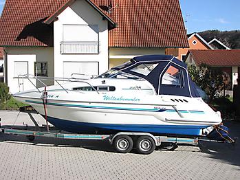 Verdeck Sealine 240 Bootsverdeck Persenning 03