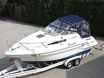 Verdeck Sealine S240 mit Bimini Bootsverdeck Persenning 08