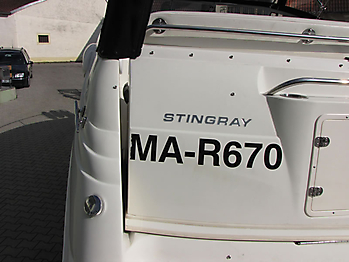 Verdeck Stingray 250CS Bootsverdeck Persenning 17