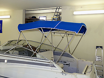 Bimini-Top der Bayliner 2355