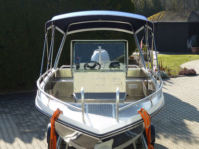 bimini top konsolenboot 03