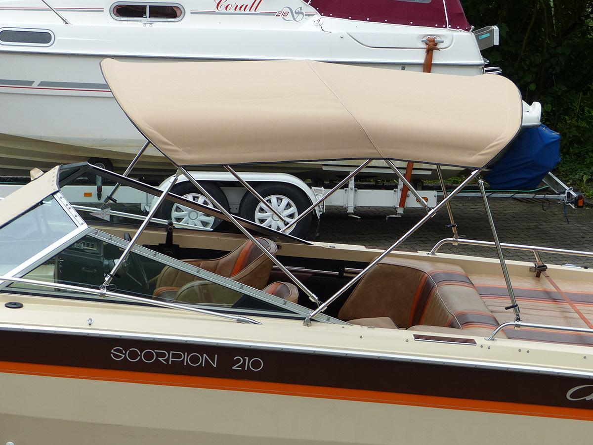 MagiDeal 4 St/ücke Edelstahl Bimini Boot Top Deck Scharnier Bootsverdeck Sonnenverdeck Sonnensegel Bimini Top Montage und Befestigung Scharnier