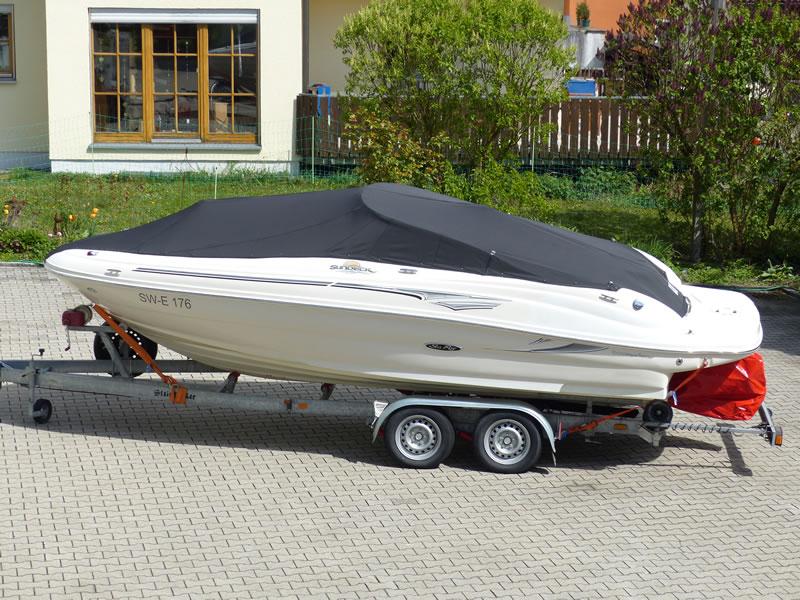 Persenning Sea Ray 200 Sundeck Bootspersenning 01