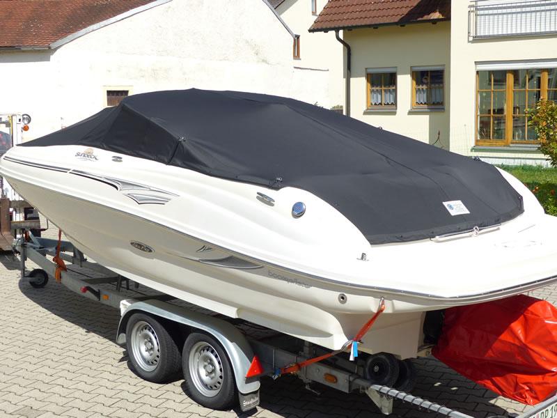 Persenning Sea Ray 200 Sundeck Bootspersenning 05