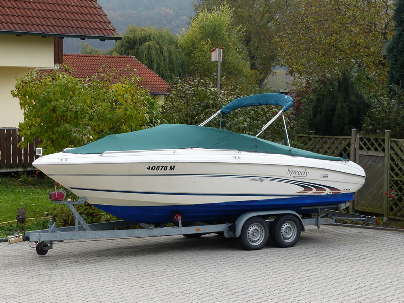 Persenning Sea Ray 210 Signature Bootspersenning 06