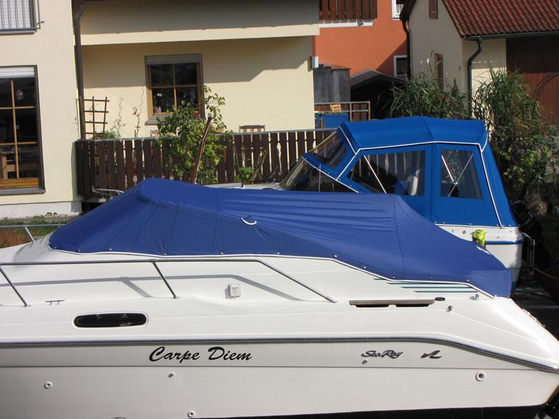 Persenning Sea Ray 230 DALT Bootspersenning 02