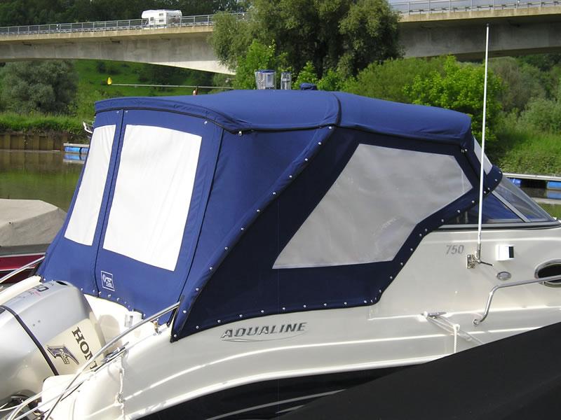 Verdeck Aqualine 750 Persenning  16