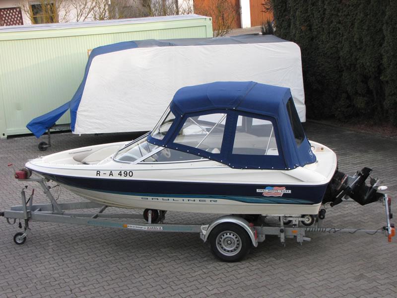 Verdeck Bayliner 1750 LS Persenning 01