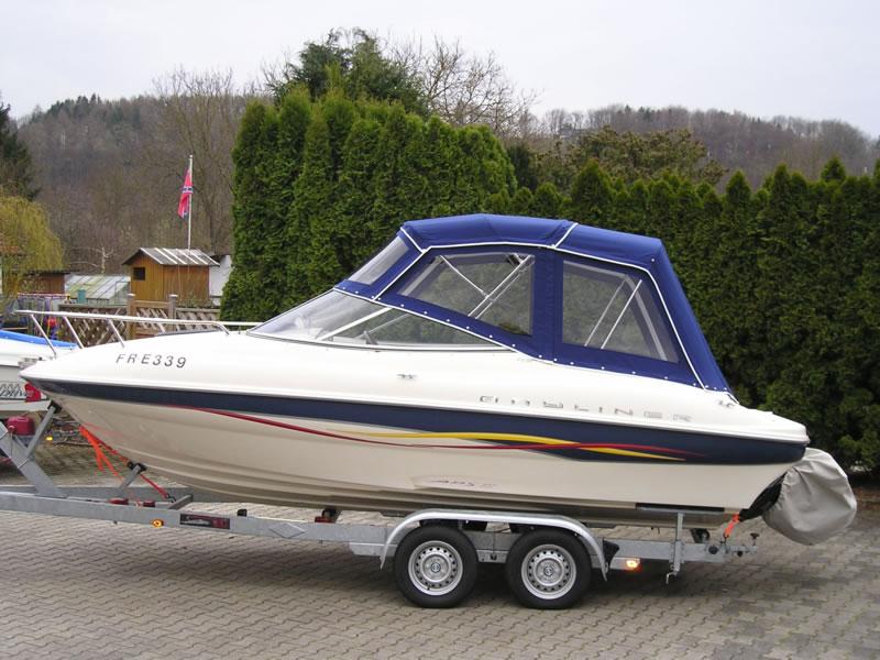 Verdeck Bayliner 192LX Persenning 02