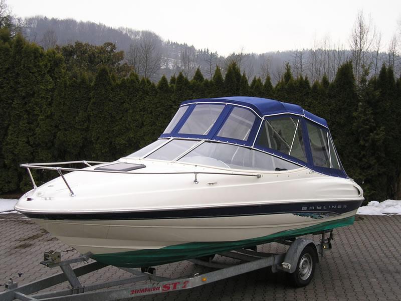 Verdeck Bayliner 2052 LS Persenning 03