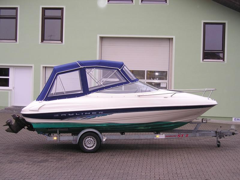 Verdeck Bayliner 2052 LS Persenning 06