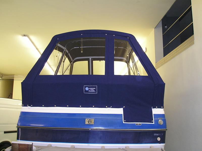 Verdeck Bayliner 2455 Persenning 04