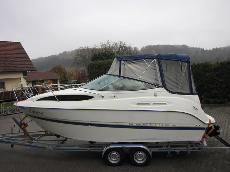 Originalverdeck Bayliner 245 01