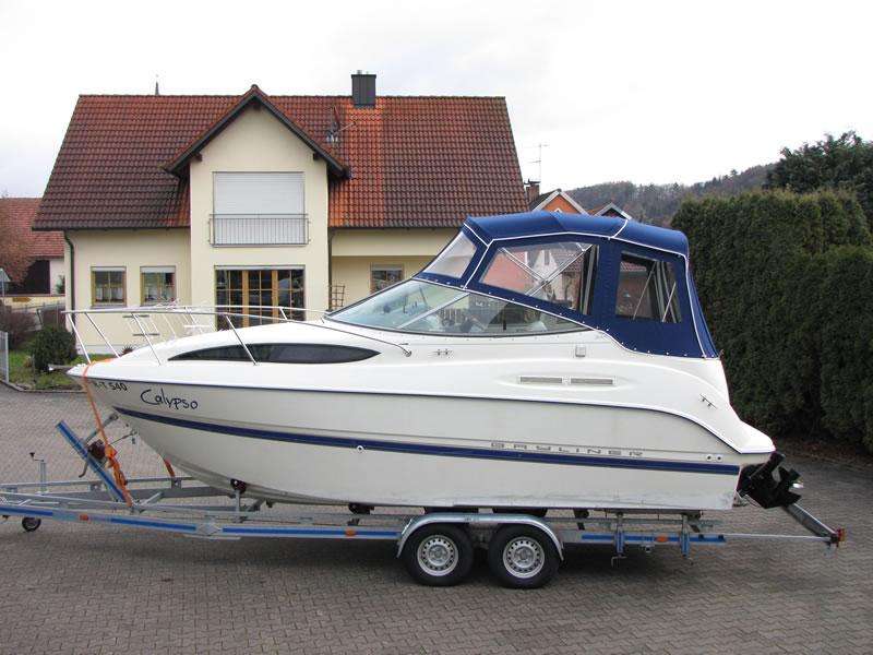 Verdeck Bayliner 245 Persenning 03