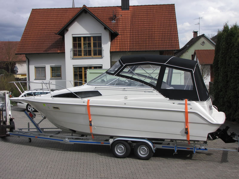 Verdeck Bayliner 2655 Persenning 04