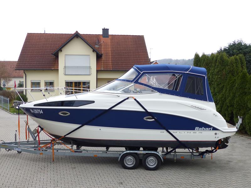 Verdeck Bayliner 265 Persenning 24