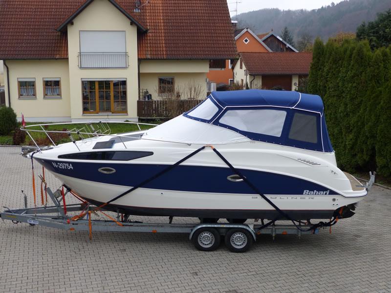 Verdeck Bayliner 265 Persenning 28