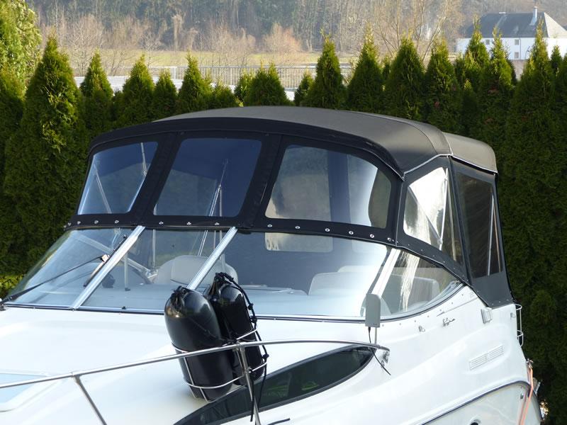 Verdeck Bayliner 265 Originalgestänge 09