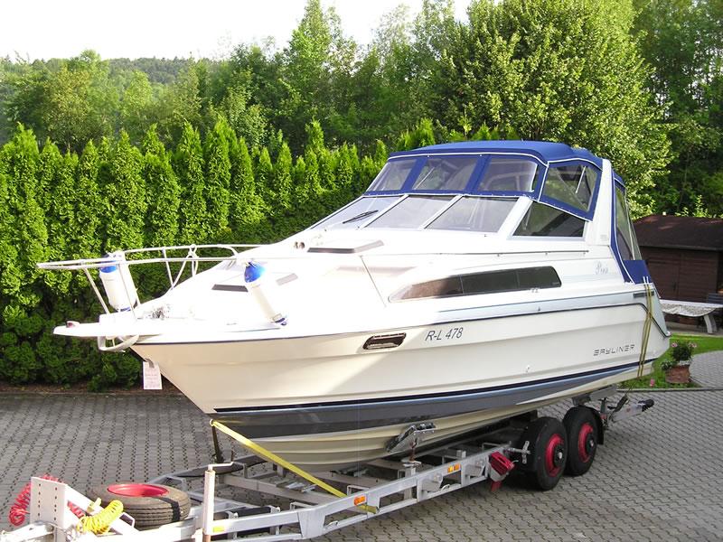 Verdeck Bayliner 2855 Persenning 04