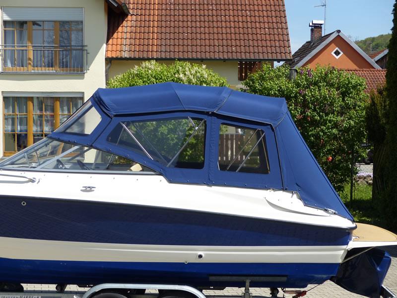 Verdeck Bayliner 652 Cuddy Bootsverdeck Persenning 04