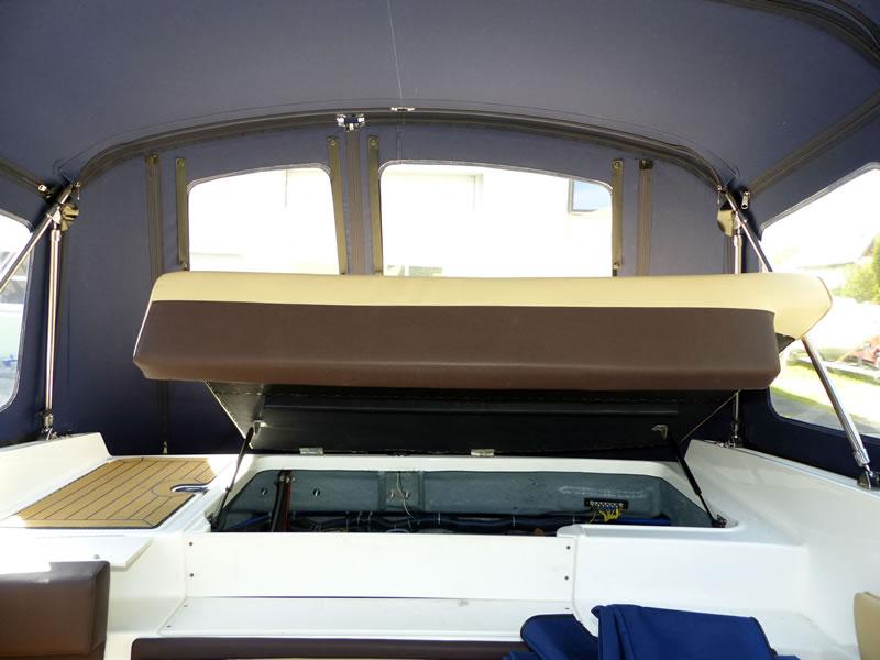 Verdeck Bayliner 652 Cuddy Bootsverdeck Persenning 30