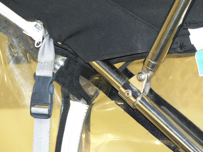 Altes Originalverdeck Crownline 250 CR zum Vergleich 11