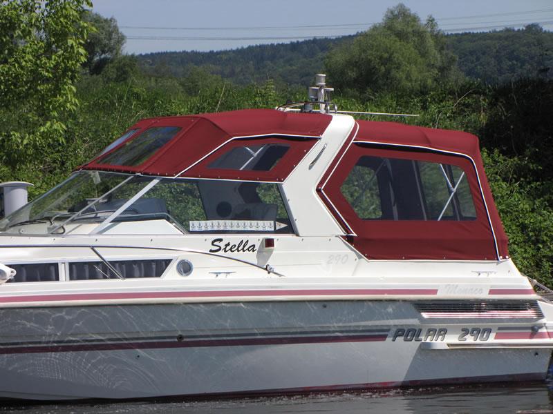 Verdeck Polar 290 Monaco Persenning 04