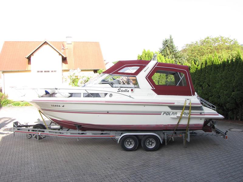 Verdeck Polar 290 Monaco Persenning 09