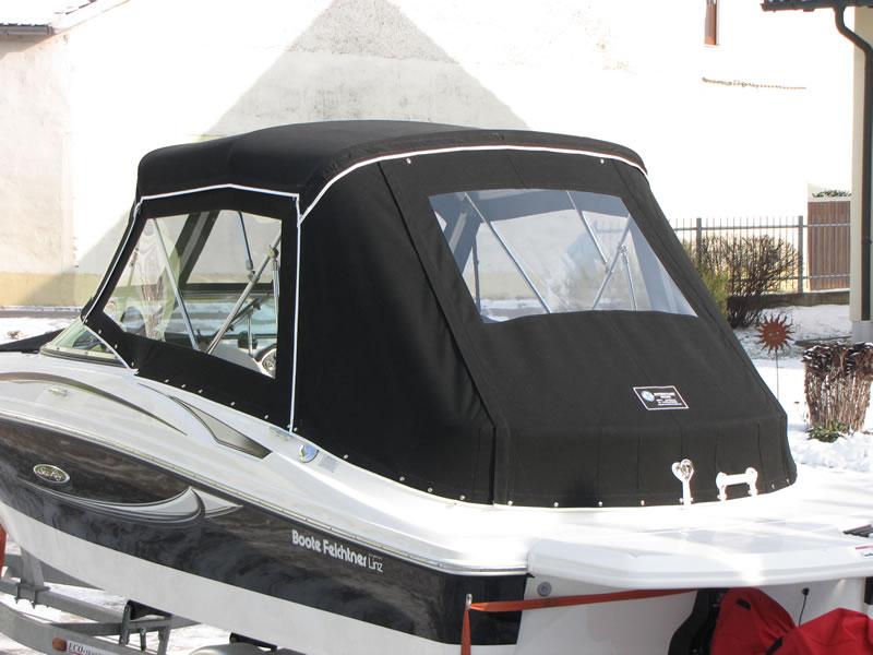 Verdeck Sea Ray 195 Sport Persenning 11