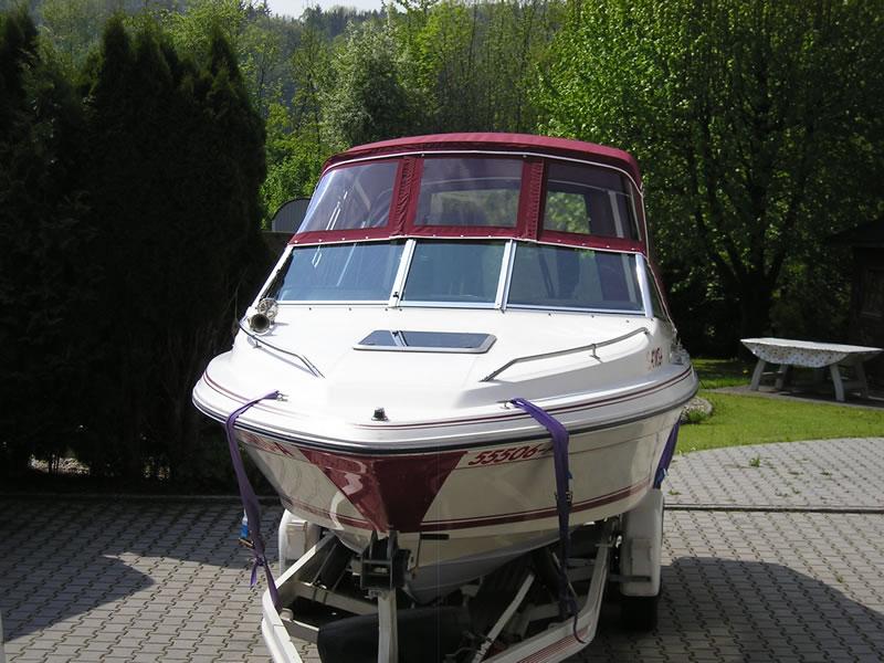 Verdeck Sea Ray 200CC Persenning 04