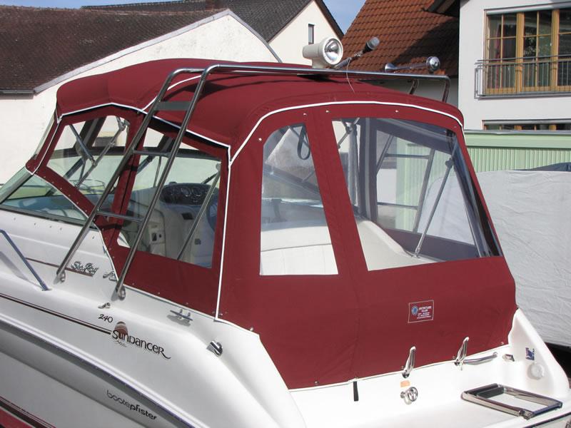 Verdeck Sea Ray 240 DA Persenning  15