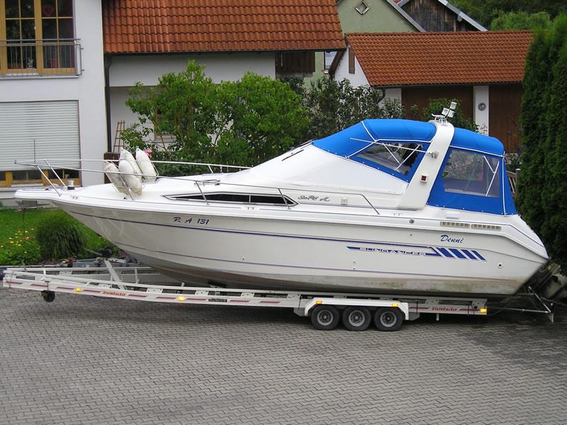Verdeck Sea Ray 250 Sundancer Persenning  02