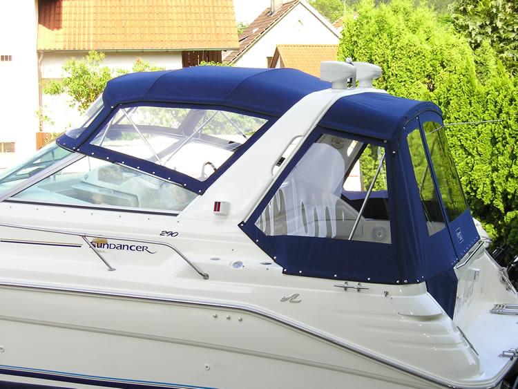 Verdeck Sea Ray 290 Sundancer Persenning 13