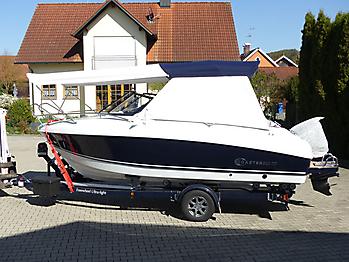 Bimini Coaster 600 DC seitlicher Sonnenschutz Sonnenverdeck 04