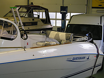 Bimini Quicksilver 600 Sonnenverdeck  04