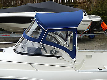 Sprayhood Quicksilver 630 commander Bimini 02